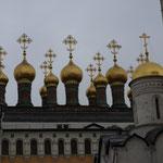 diese Kuppeln gehören zum Zarenpalast