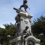 Umstrittenes Magellan-Denkmal