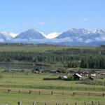 sibirische Alpen - bis 3500 m hoch