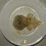 chinesische Teigtaschen mit Fisch