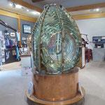 alte Leuchtturm Lampe - war 22 Meilen weit zu sehen