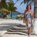 Fotomdell am Karibikstrand