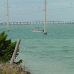 Richtung Key West - fast 200 km über Brücken...