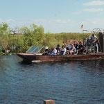 im Airboat durch die Everglades