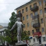 Denkmal für den Astronauten Gagarin