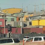die Häuser am Hang