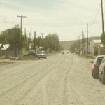 argentinisches Dorf in der Pampa