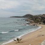 am Strand von Barriles ...