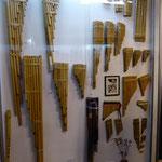 Panflöten im Musikmuseum