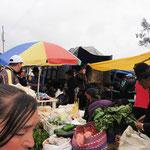 Markt in einemkleinen Dorf