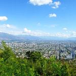 Panorama über Santiago