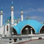 wir sind weiter im Osten, hier gibt es im Kreml auch eine Moschee