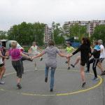 Uschis Asientour-Fitnessprogramm - da lassen die Einheimischen ........