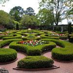 einer der Gärten um den Palast