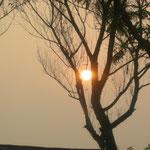 so schön auch das Bild ist - es ist leider Smog