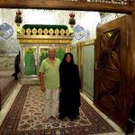 wir durften sogar in der Moschee fotografieren