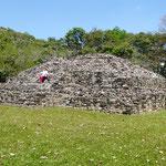 archäologische Anlage von Copan ....