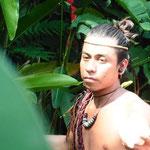 ein Nachkomme der Mayas