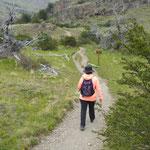 Wanderung Richtung Laguna Torre
