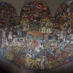 Wandbild - die Geschichte Mexicos