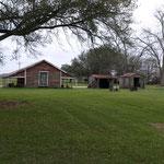 in diesen Hütten lebten die Sklaven