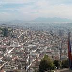 der nördliche Stadtteil von Quito