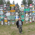mit über 70'000 Schilder aus der ganzen Welt