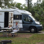 Camping in den Everglades
