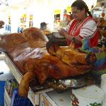 Spanferkel auf ecuadorianisch