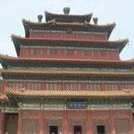 einer der Tempel