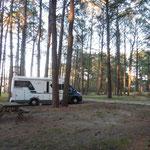 einsame Campingplätze