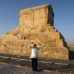 Pasargad Grabmal von Cyrus
