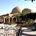 Eingang zur Blauen Moschee