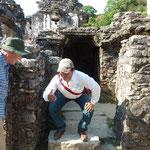 unser Guide erläutert uns das Maya-WC