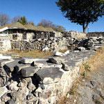 bei Ausgrabungen wurde auch ein Badehaus eines Königs gefunden