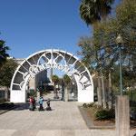Eingang zum Armstrong Park