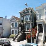 typische Häuserfassaden