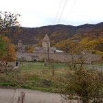 das Kloster Tatev von oben