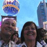 Wir sind in Las Vegas angekommen