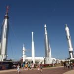 verschiedene Raketentypen