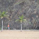 Palmen und Sand auf Teneriffa