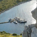 Wunderschöne Bucht in den Kornaten