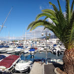Yachthafen auf Teneriffa