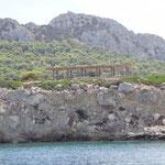 Tempel bzw. Restaurant Nisis Mini