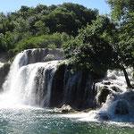 Die Wasserfälle Krka
