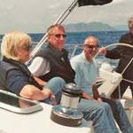 Segeln in den Liparischen Inseln