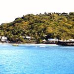 Segeln in der Karibik - Basil's Bar auf Mustique