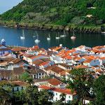 Segel auf den Azoren