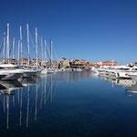 Hafenidylle in Kroatien