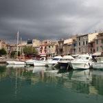 Hafen an der Côte d'Azur